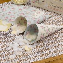 With Love Confetti Cones (10)